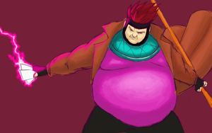 Gambit Gone Fat by gwinchy