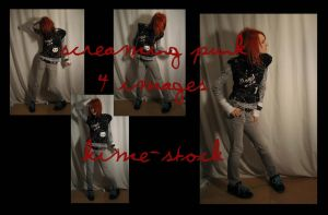 Screaming Punk 2 by kime-stock
