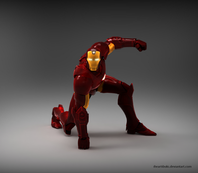 I Am Iron Man! by iheartibuki