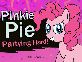 Pinkie Pie Joins the Battle by DJgames