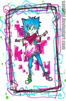 ++KITTY+NEON+KITTY++ by Sardiini