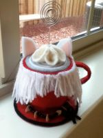 InuYasha teacup by PandoraLuv