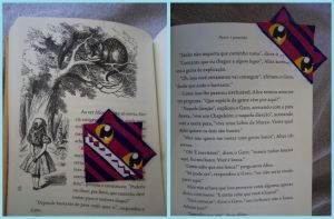 .: Cheshire Cat bookmark :. by Lil-melody
