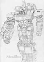 GeeTwo Movie Megatron Concept by hansime