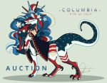 COLUMBIA- CLOSED by SinCommonStitches