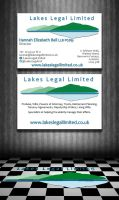 Lakes Legal Business Cards by Genesis2Revolution