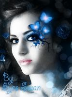 Blue Butterfly2 by seemh