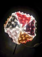 Origami sonobe light by pepel57