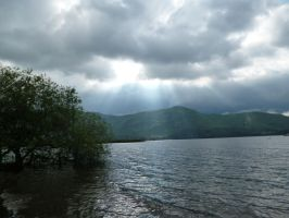 Light hits water by Bizkit66