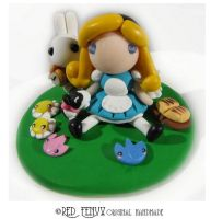 Alice in Wonderland Figurine by RedFenyx
