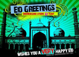 Eid Greetings by one8edegree