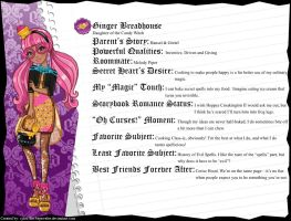 Ever After High - Ginger Breadhouse's Bio v3 by cjlou-the-bejeweler
