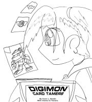 Digimon: Card Tamers Cover by Terrichance