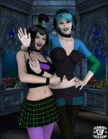 Gothic Buddies by ImfamousE