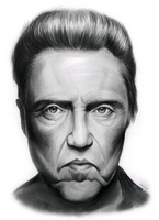 Christopher Walken by gregchapin