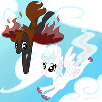 FREE FALLING by star-poke