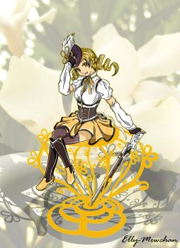 Mami Tomoe by Elly-Mewchan