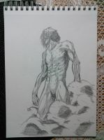 Finished Eren Titan Form by Naruto711
