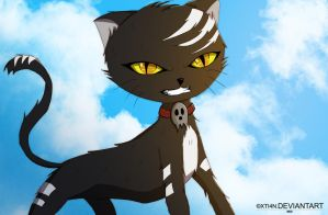 Death the Cat by XTi4N