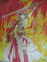 Magic Knight Rayearth - Hikaru by dprym23