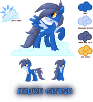 Azure Crash Profile by Blue-Cup