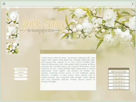 Gentle Spring | advanced custom graphic by BluAjisai