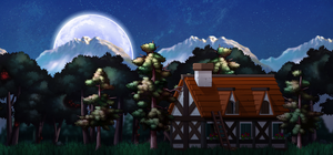 Maplestory Background - Lonely Home by SoarDesigns