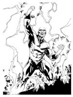 JLA January Black Lightning SOTD by RobertAtkins