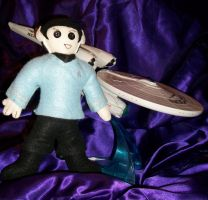 Mr. Spock Doll by PiratePincushion