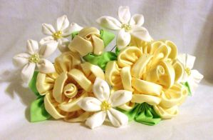Yellow Rose bouquet by EruwaedhielElleth