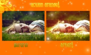 action orange :D by iLoGiQa