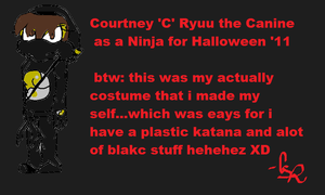 My halloween costume '11 with C by Mighty-C-amurai