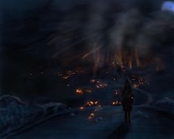 Flame village by corbo38