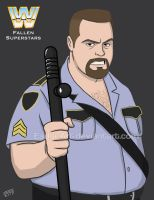 WWE Fallen Superstars: The Big Boss Man by EadgeArt