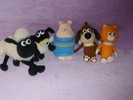 Shaun the Sheep and Timmy Time by Bj-Lydia