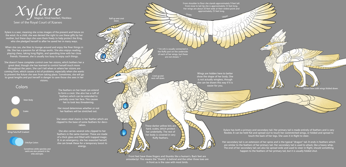 Reference - Xylare by BeeZee-Art