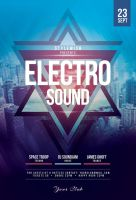 Electro Sound Flyer Template by styleWish
