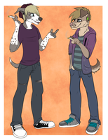 Reese and Cody - Trade by TheFrizzyKitten