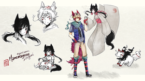 [TRADE] Mamemamono Adopt ver. Inugami by mayoujii