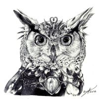Owl by be-a-sin