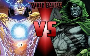 DEATH BATTLE: Living Tribunal vs Spectre by G-Odzilla