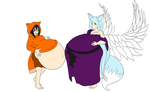 Foxies by Green-Glutton
