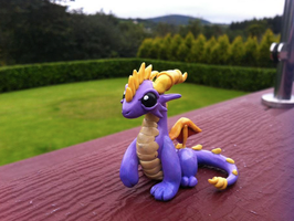 Spyro The Dragon by AmethystCreatures