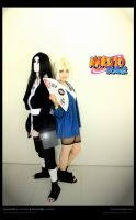 Jounin- Orochimaru and Tsunade by TheSnakePrince