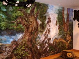 Jungle Mural by M-Lev1911