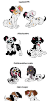 Arrow Puppies Final Batch by xxMizanxx