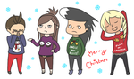Merry Christmas by magical-bra