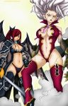 Erza and Mirajane ch364 by Lonewolf2592