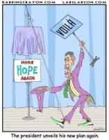 Obama's Mystery Plan by Conservatoons