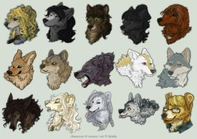 Avatar Commission Batch 14 by Kiriska